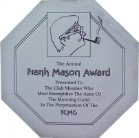 Frank Mason Award Plaque