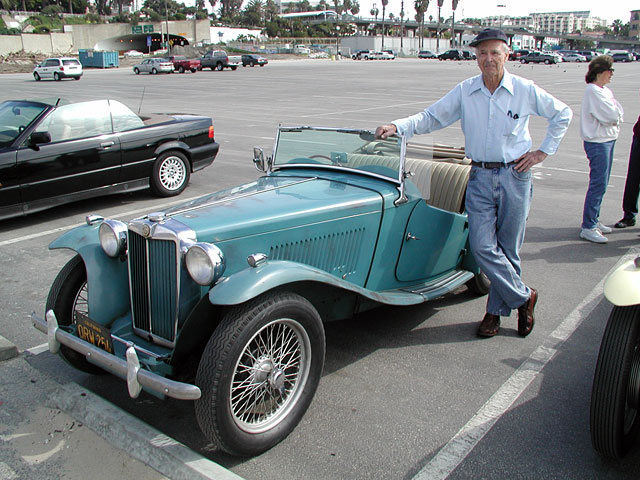 Joe Douglass and his one-owner MG TC