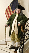 Art Ludwick as Ben Franklin